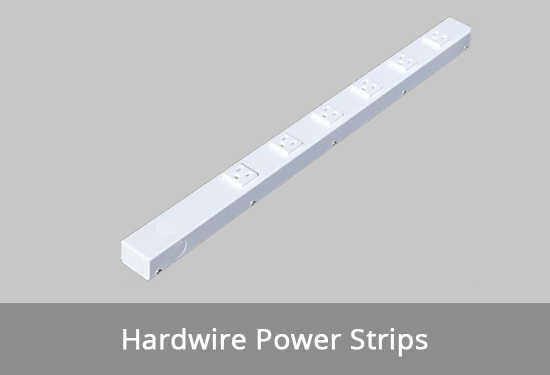 hardwired power strips