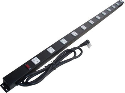 "45"" 12-Outlet Power Strip 045126S"