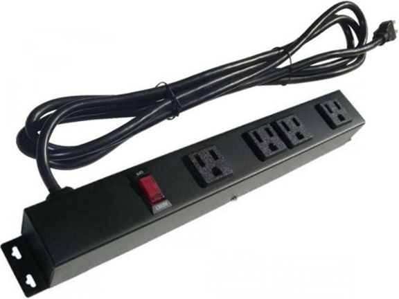 "12"" 4-Outlet Power Strip 104121E"