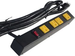 "12"" 4-Outlet Power Strip 10412A"