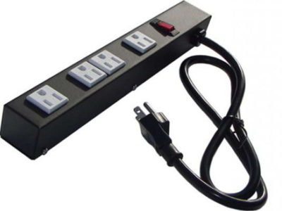 """12"""" 4-Outlet Power Strip 1043"""