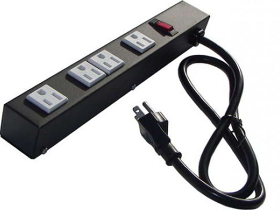 "12"" 4-Outlet Power Strip 1043"