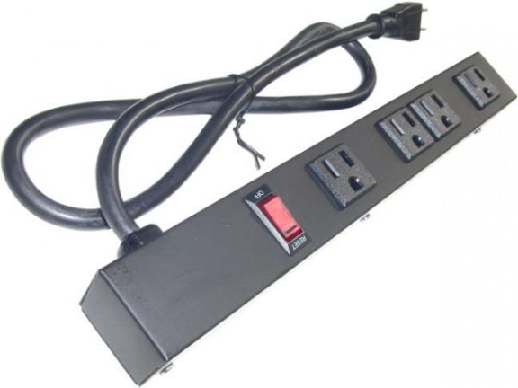"12"" 4-Outlet Power Strip 10431"