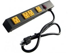 "12"" 4-Outlet Power Strip 1043A"