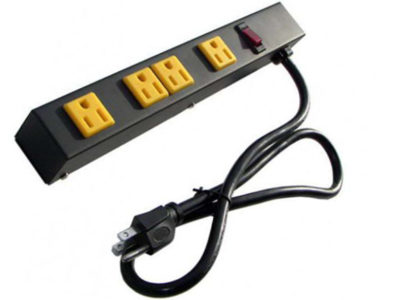 """12"""" 4-Outlet Power Strip 1043A"""