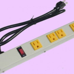 "12"" 4-Outlet Power Strip 1043AG"
