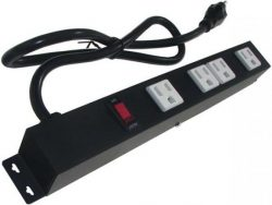 "12"" 4-Outlet Power Strip 1043E"