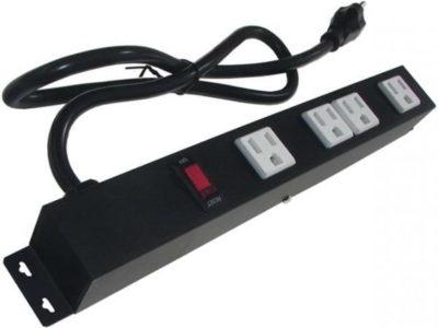 """12"""" 4-Outlet Power Strip 1043E"""