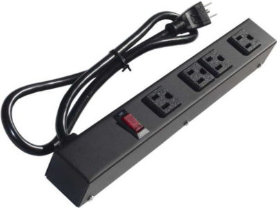 "12"" 4-Outlet Power Strip 1043V1"