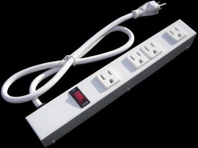 "12"" 4 Outlet Power Strip 1046W1"
