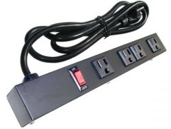 "12"" 4-Outlet Power Strip 10461"