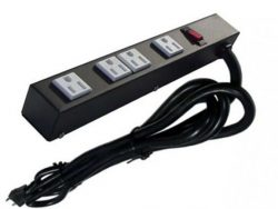 "12"" 4-Outlet Power Strip 1049N"