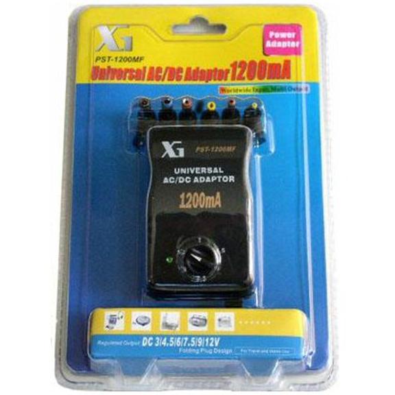 Universal AC/DC Multi-Voltage Output Adaptor 1200MF