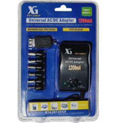 Universal AC/DC Multi-Voltage Output Adaptor 1200UF