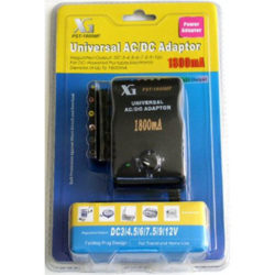 Universal AC/DC Multi-Voltage Output Adaptor 1800MF