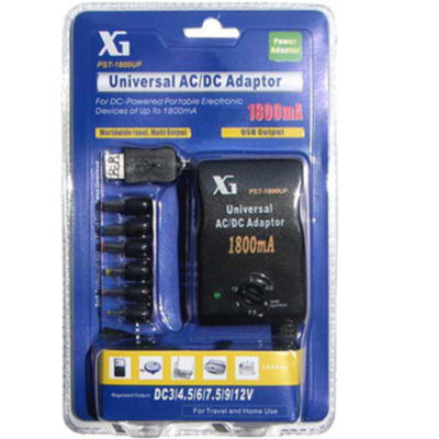 Universal AC/DC Multi-Voltage Output Adaptor 1800UF
