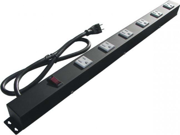"""24"""" 6-Outlet Power Strip 2063"""