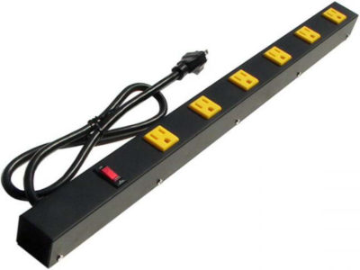 "24"" 6-Outlet Power Strip 2063A"