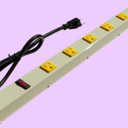 "24"" 6-Outlet Power Strip 2063AG"