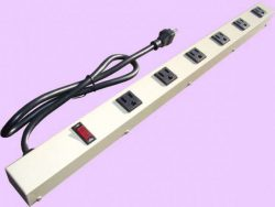 "24"" 6-Outlet Power Strip 2063AG1"