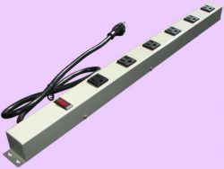 "24"" 6-Outlet Power Strip 2063G"