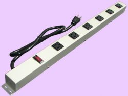 "24"" 6-Outlet Power Strip 2063VG"