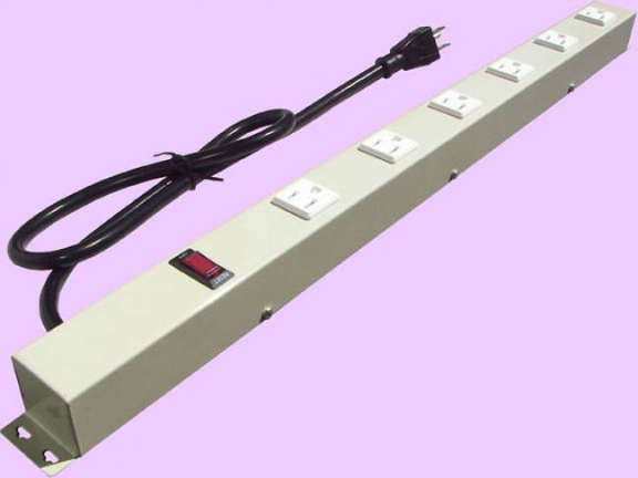"""24"""" 6-Outlet Power Strip 2063VG1"""