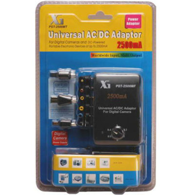 Universal AC/DC Multi-Voltage Output Adaptor 2500MT