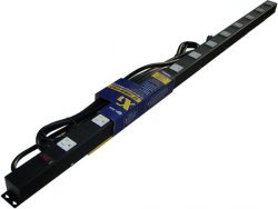"48"" 12-Outlet Power Strip, 15' Cord 41215"