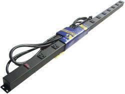 "48"" 12-Outlet Power Strip, 15' Cord 412151"