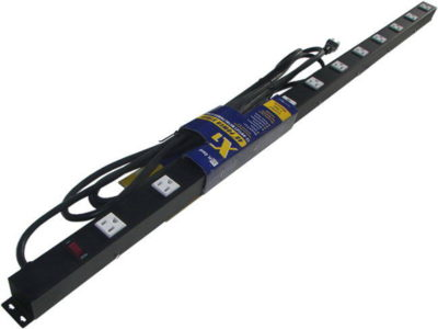 "48"" 12-Outlet Power Strip, 15' Cord 41215V"