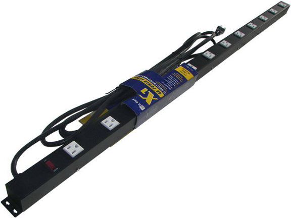 "48"" 12-Outlet Power Strip, 15' Cord 41215V"