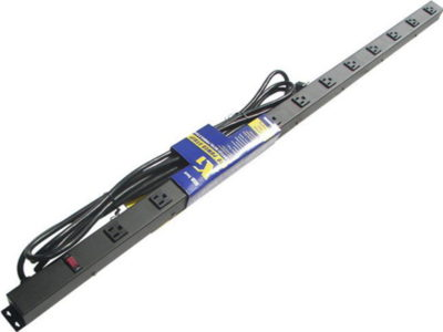 "48"" 12-Outlet Power Strip, 15' Cord 41215V1"