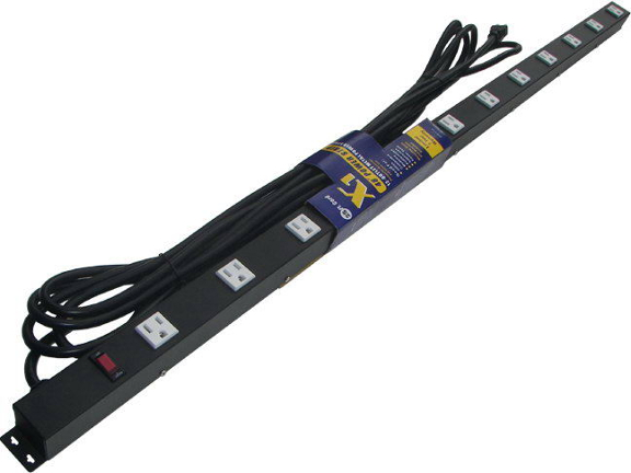 "48"" 12-Outlet Power Strip, with 25' Cord 41225"