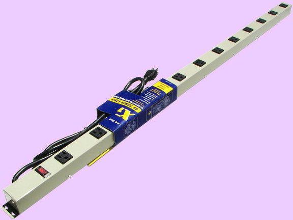 """48"""" 12-Outlet Power Strip 4126G"""