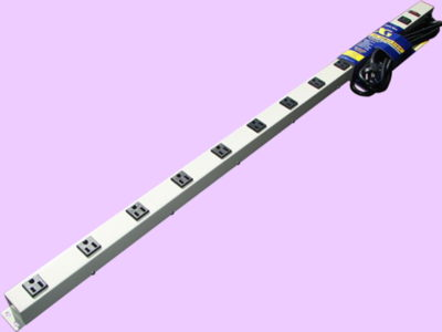 "48"" 12-Outlet Power Strip 4129G"