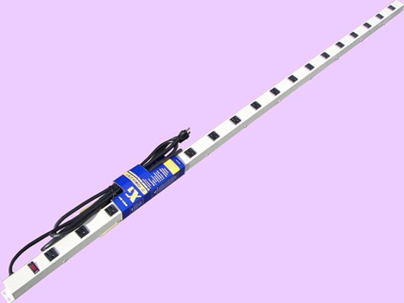 """72"""" 18-Outlet Power Strip 61812G"""