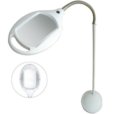 3 Diopter Magnifier Lamp Mobile Stand 8061LED