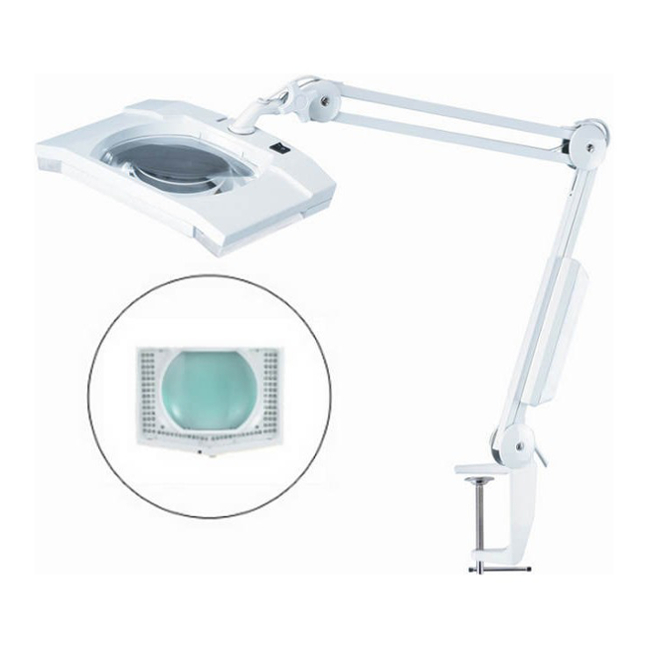 5 Diopter Magnifier Lamp Bench Clamp 8069LED5