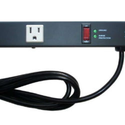 "24"" 6-Outlet Power Strip 2069BL"