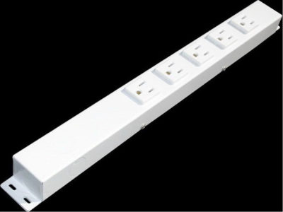 """16"""" 5 Outlet Hardwired Power Strip H01605NVW1"""