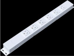 """16"""" 6 Outlet Hardwired Power Strip H01606NVW1"""