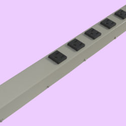 "20"" 6 Outlet Hardwired Power Strip H02006NVGZ"