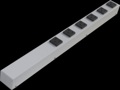 "20"" 6 Outlet Hardwired Power Strip H02006NVWZ"