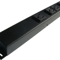 "12"" 4 Outlet Hardwired Power Strip H104NV1"