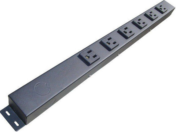 "24"" 6 Outlet Hardwired Power Strip H206NV1"