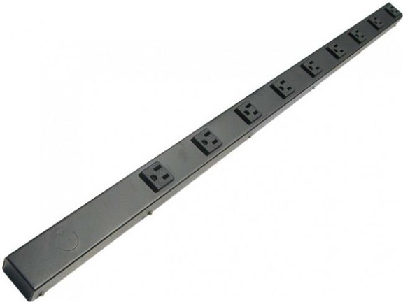 "36"" 9 Outlet Hardwired Power Strip H309NV"