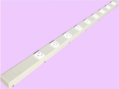 "36"" 9 Outlet Hardwired Power Strip H309NVG"