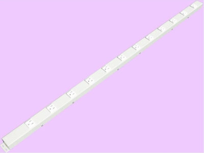 "48"" 12 Outlet Hardwired Power Strip H412NVG1"