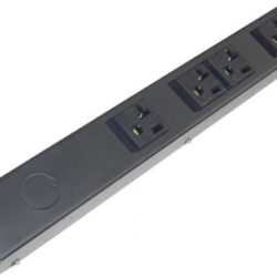 "12"" Hardwired Power Strip with 4 20A Outlets HT104NV"